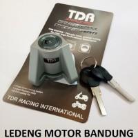 Kunci Cakram TDR Gembok Besi Baja Kuat Awet Piringan Motor Disc Lock