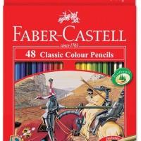 Pensil Warna Faber Castell 48 Warna Panjang Classic