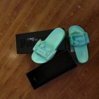 sandal puma fenty fur slide green sneaker UA Bnib