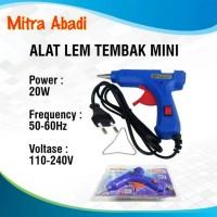Alat Lem Tembak Mini/Glue Gun Mini 20W