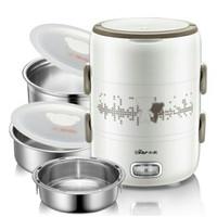 Bear Electric heater Lunch Box penghangat makanan praktis
