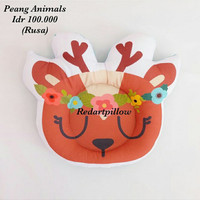 Bantal peang bayi animals redartpillow