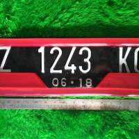 PROMO Dudukan Plat Nomor Mobil Motif Warna BEST SELLER