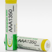 BATERAI BTY ORIGINAL AAA 10440 NiMH 1.2V 1350 Mah RECHARGEABLE