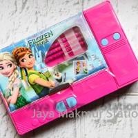 Pencil case KIKU jumbo frozen pink ITEM No.: KJ848-FR