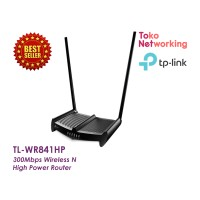 TP-LINK TL WR841HP 300Mbps High Power WirelessNRouter WR 841HP 841 HP