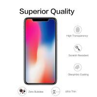 High Quality Tempered Glass Anti Gores Bening iPhone 6 6S 7 8 X Plus - 6 atau 6S