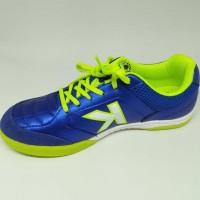 Update Sepatu Futsal Kelme Original Land Precision Blue Stabilo New