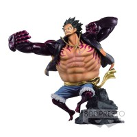 Action Figure OP Scultures Big Clsm Spc Gear Four Luffy Special Color