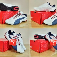 SEPATU PUMA Casual / Sneakers / Olahraga BMW FUTURE CAT (White Navy)