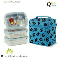 GIG BABY RENTANGULAR LUNCH BOX KOTAK