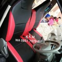 Sarung Jok Mobil Datsun Go 2 baris Freelander Kombinasi Bintik