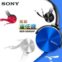 Headphone Sony MDR-XB450AP (Stereo/Headset/Handsfree/Bando/Earphone)