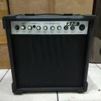 Ampli Gitar Bass Merk Raf Ukuran 8 Inch Overdrive Jakarta Amply