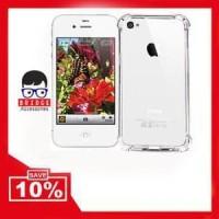 Murah - Soft Case Anti Shock - Anti Crack Iphone 4 4S 4 Berkualitas