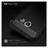 Murah ! Case Ipaky Carbon Samsung Galaxy A3 2017 /A320 Limited