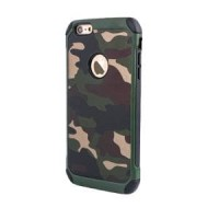 Shockproof Case Army Series PC+TPU for Iphone 6/6G FREE Berkualitas