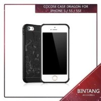 Murah ! Cocose Case Dragon Iphone 5 / 5s / 5se Tpu Soft Limited