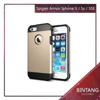 Spigen Type Slim Armor Case For Iphone 5G - gold Murah