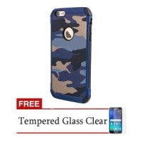 Shockproof Case Army Series PC+TPU for Iphone 4/4G FREE Murah