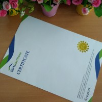 Sertifikat / Piagam Pendidikan, Perlombaan, Kursus, Seminar dll