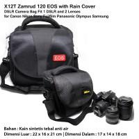Zamrud 120 Nikon Canon DSLR Camera Bag Fit 1 DSLR + 2 Lens