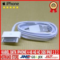 Kabel Data Usb IPhone Ipad 1 2 3 Original 100%