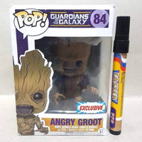 Mainan action figure  Funko pop 84 Guardian of the galaxy series Angry