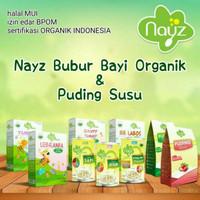 NAYZ Bubur Beras Tim Organik dan Puding Susu Bayi - Organic Rice