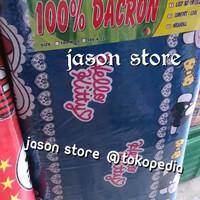 Kasur busa 100% dacron uk.180 x 120 cm/Kasur lipat busa 100% dacron