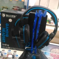 Headset Gaming Sades Wolfang