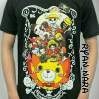 Kaos Anime / One Piece / Strawhat Chibi