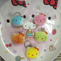 Squishy Murah Mini Cute Hello Kitty Head With packaging