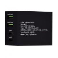 F9 - 4 Port 10A Wall Charger Qualcomm - 2 USB QC 3.0 - 2 Type C