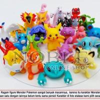 24pcs Pokemon Figure-Pokemon Go-Game-Film Anime-Pocket Monsters-VB115