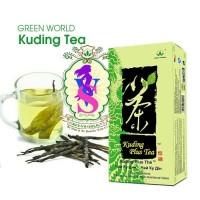 Kuding plus tea green world | teh green world | flu | bronkitis