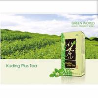 Kuding Plus Tea Green World Atasi Flu Panas Hipertensi