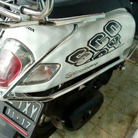 Aksesoris Crashbar Honda New Scoopy 2017 - Matic Nation