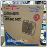 """Exhaust Fan Dinding / Tembok MASPION MV-200 NEX 8"""" GARANSI"""