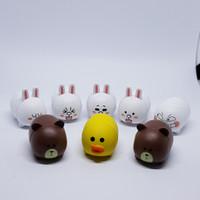 Tsum2 LINE boneka figurin / topper kue / mainan boneka pajangan browny