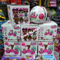 mainan anak perempuan boneka figure lol surprise egg series new
