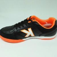 Terbaru Sepatu Futsal Kelme Original Land Precision Black Orange New