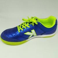 Terbaru Sepatu Futsal Kelme Original Land Precision Blue Stabilo New