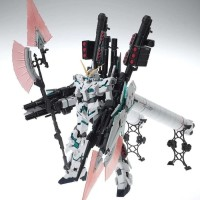 MODEL KIT MG FULL ARMOR UNICORN GUNDAM 1/100 FA UC DABAN Ver