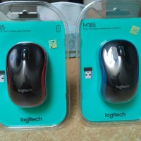 berkualitas Mouse Logitech Wireless M185 ORIGINAL