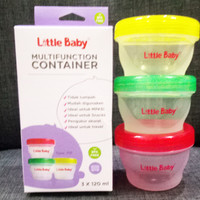 BABY LITTLE BABY CONTAINER KECIL 120 ML (KODE 1121) / KONTAINER MULTIF