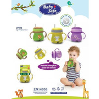 BABY BABY SAFE CUP WEIGHTED STRAW [JP019] / TRAINING CUP
