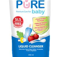 BABY PURE BABY Liquid Cleanser 450ml Food Grade / PUREBABY Sabun Cuci