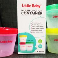 BABY LITTLE BABY CONTAINER BESAR 160 ML (KODE 1120) / KONTAINER MULTIF