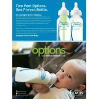 BABY Dr. Brown's PP Option Narrow Bottle 120ml / Botol Susu Dr. Brown'